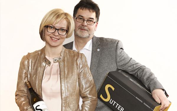Doris und Leopold Sutter - Weingut Sutter