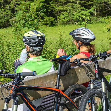Radweg der Rivaner, Radfahren im Schmidatal