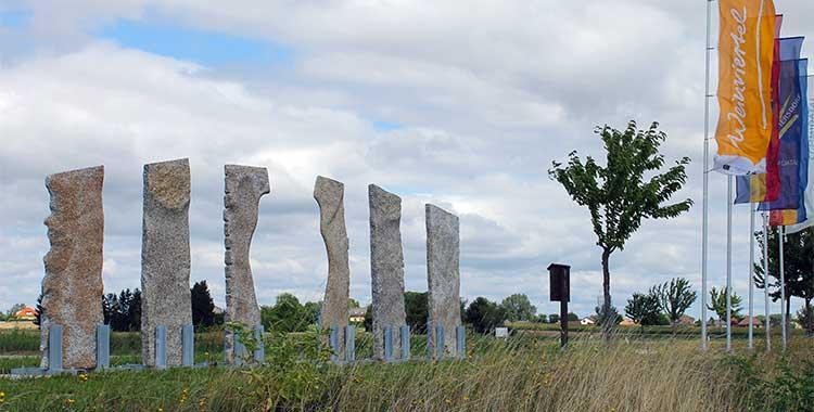 Skulptur - Installation - Der Übergang