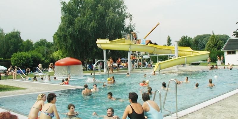 Freibad Ziersdorf - Baden im Schmidatal