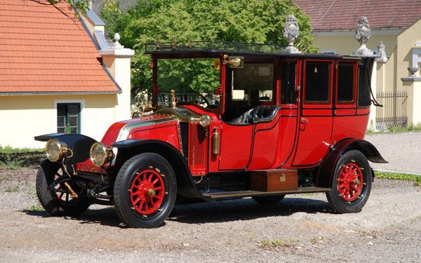 Geschichte des Oldtimers - Koller's Oldtimer am Heldenberg