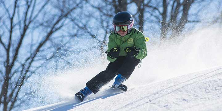 Skifahren im Schmidatal im Weinviertel