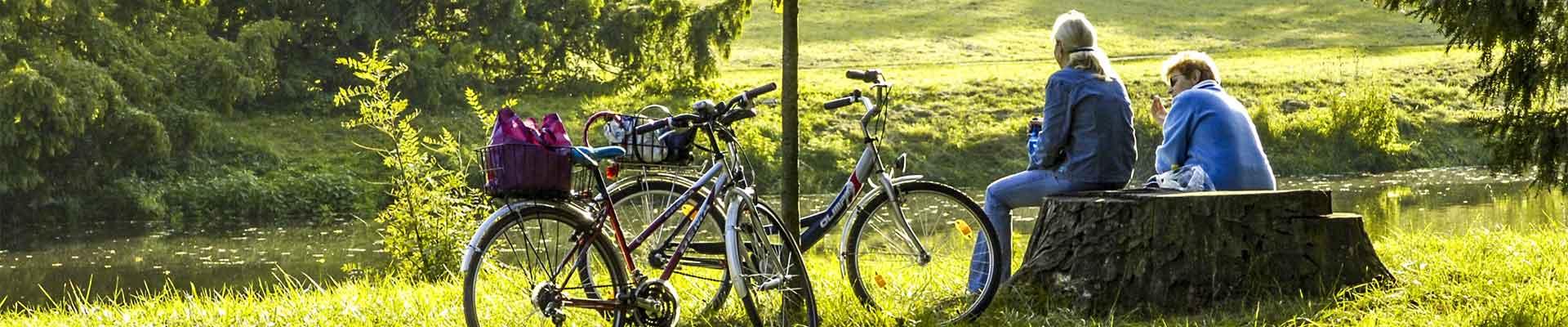 Radausflug im Schmidatal - Radweg der Burgunder