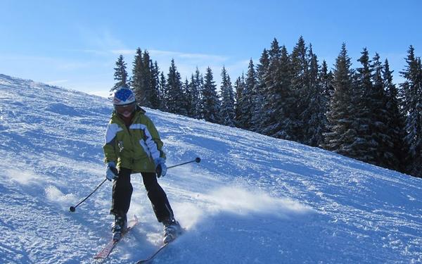 Schifahren im Schmidatal