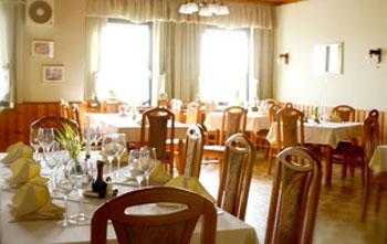 Gasthaus Manfred Theurer gedeckter Tisch