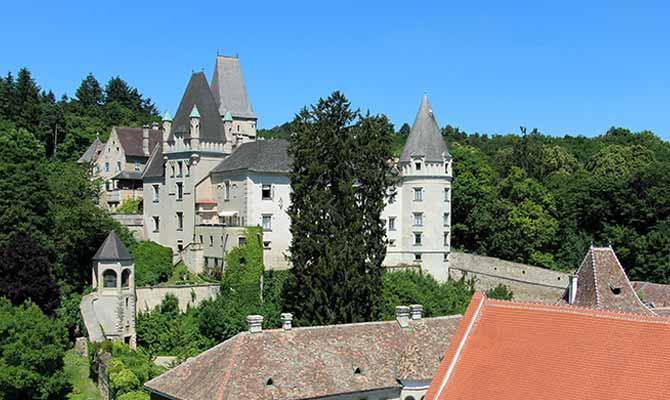 Ausflug nach Schloss Maissau - Landschaft