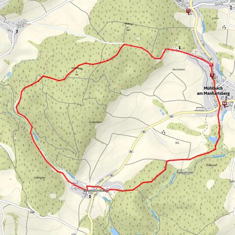Rundwanderweg Mühlbach - Schmidatal - Weinviertel