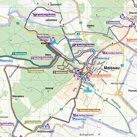 weinwanderweg - Maissau - schmidatal - aktivitäten - niederösterreich